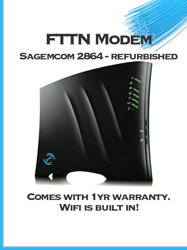 Sagemcom 2864 fast ADSL / VDSL