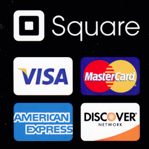 Now accepting all major credit cards as well as Visa debit cards.