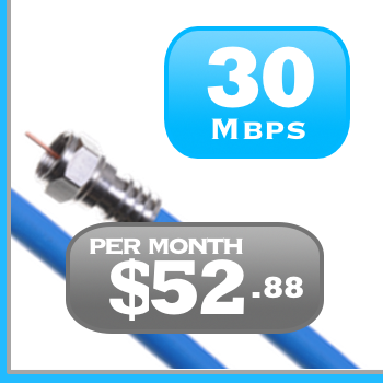 Ontario 30Mbps Unlimited Cable Internet Rogers