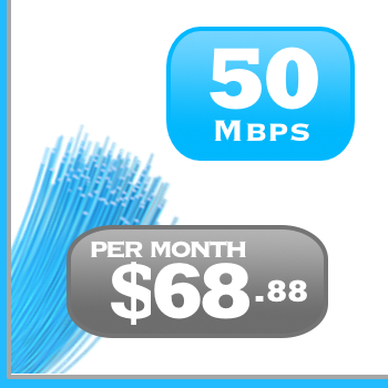 50Mbps DSL Internet plan in Ontario and Quebec