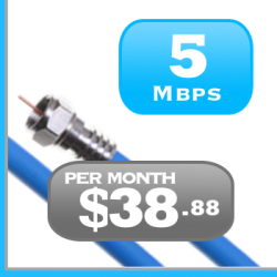 Quebec 5Mbps Cable Internet