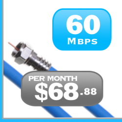 60Mbps cable Internet service is for Gamers and streamers