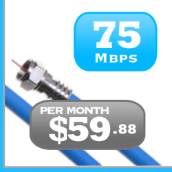 Ontario 75Mbps Unlimited Cable Internet Rogers