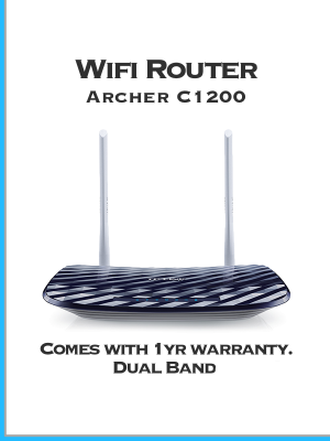TPLink Archer C1200 Wifi router for home